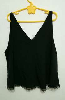 Tank Top Black XL