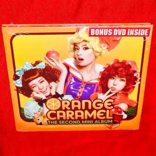 Orange Caramel	-	2nd Mini Album (CD+DVD)