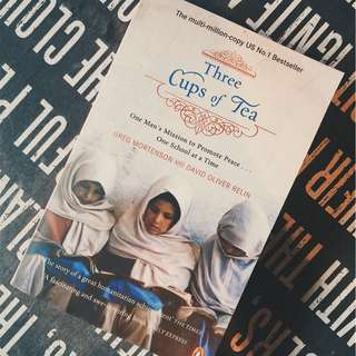 Brand New - Three Cups of Tea : One Man's Mission to Promote Peace -- One School at a Time (Reprint) by Mortenson, Greg and Relin, David Oliver