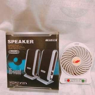 3.5MM頭 擴音器 SPEAKER USB