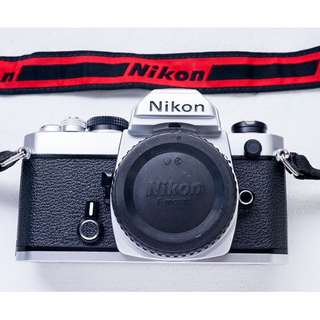 Nikon FM fully mechanical SLR film camera