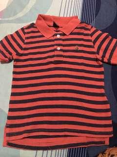 GAP stripes polo shirt