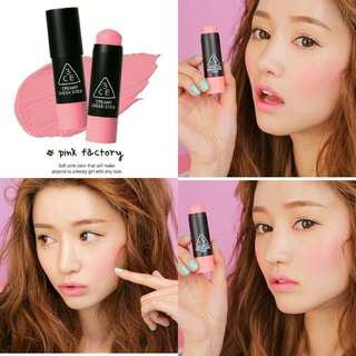 3CE - Creamy Cheek Stick-#Pink Factory