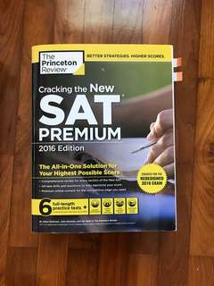The Princeton Review Cracking the New SAT Premium (2016 edition)
