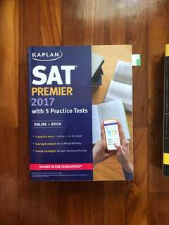 Kaplan SAT premier 2017