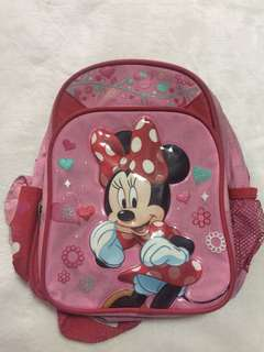 Minnie mouse backpak