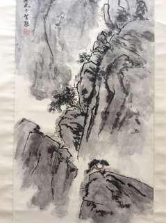 画家梁智能 Chinese painting