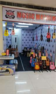 Acoustic Guitar, Ukulele, Drums, Keyboard and other Musical Instruments