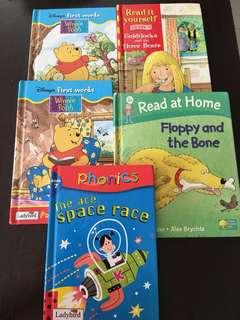 Kid lady bird story book