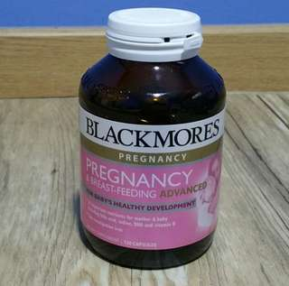 Blackmores Pregnancy and Breastfeeding Advanced (120 Capsules)
