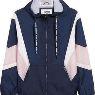 Tommy Jeans 拼色 Full Zip Jacket