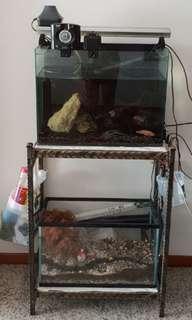Aquarium Terrarium FishTank Stand