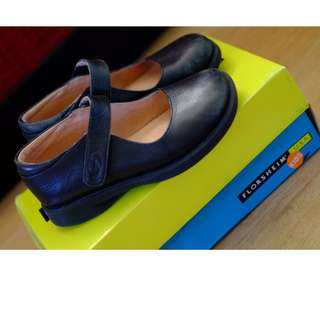 Authentic Florsheim black school Shoes