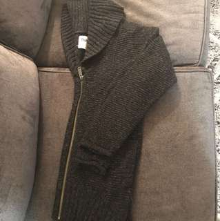 TNA zip up wool sweater - size small ( a bit oversized)