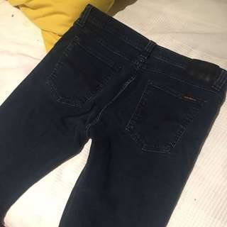 High Waisted Nudie Jeans