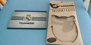 Passport cover Real Madrid