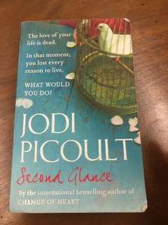 🎉Jodi Picoult 'Second Chance' book for sale!!