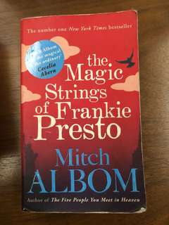 Mitch Albom 'The Magic Strings of Frankie Presto'✨