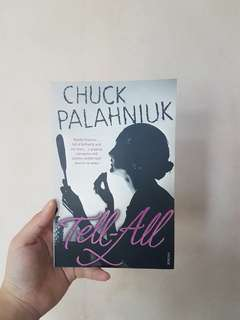 Novel: Tell All by Chuck Palahniuk