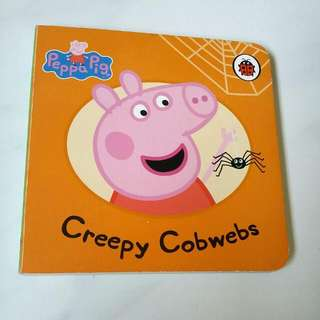 Peppa Pig Book (Creepy Cobwebs)