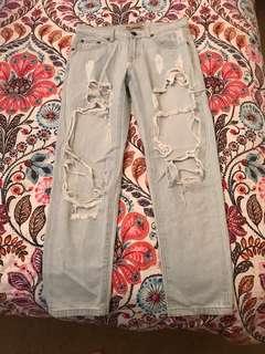 Tigermist Ripped Denim Jeans