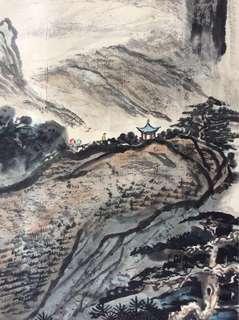 水墨画 58x96cm Chinese painting