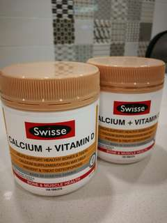 Swiss Calcium+Vitamin D (150 tablets +free 30+-tablets)