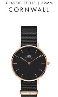 Daniel Wellington Classic Petite Cornwall Watch