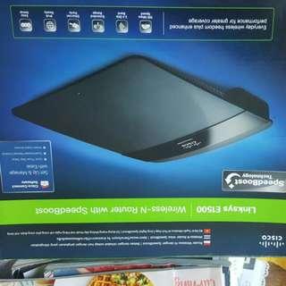 LinkSys E1500 Wireless-N Router SpeedBoosT