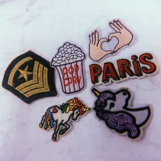 Patches - Take all 6!