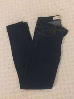 Abercrombie Women's Jeans The A&F Super Skinny 0S