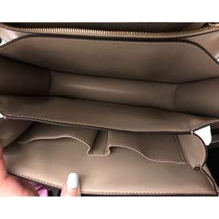 100% AUTHENTIC CELINE BOX BAG IN GREGE