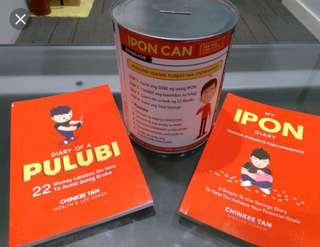 IPON DIARY/ IPON KIT/DIARY OF PULUBI