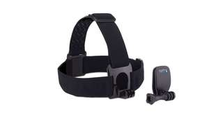 Original Gopro head strap and quick clip