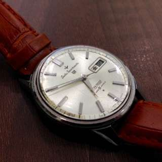 Seiko Vintage Sportsmatic 5 1960s Dialshock 21Jewels Automatic Watch
