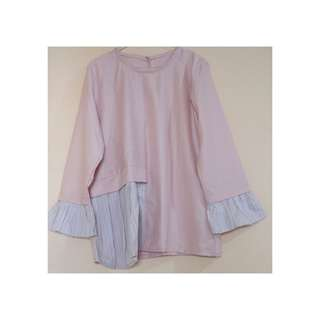 blouse smooth pink