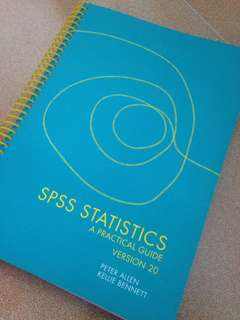 SPSS Statistic Guide
