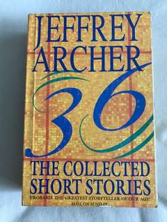 36 The Collected Short Stories by Jeffrey Archer