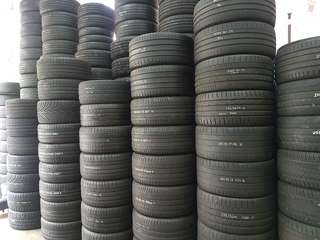 Clear for used tyre