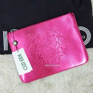 Authentic Brand New kenzo leather clutch