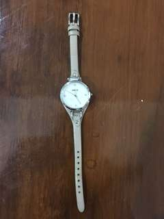Authentic fossil women watch