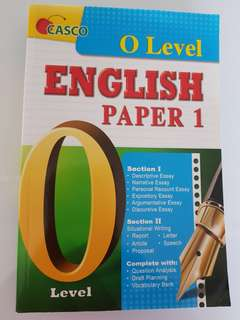 English Paper 1 for O Level by Casco