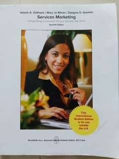 Services Marketing Textbook 7th edition
