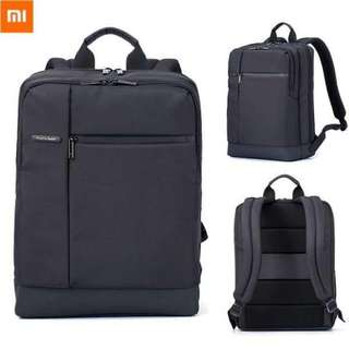 Xiaomi Classic Business Mi Backpack Bag Large Capacity Students Business Bags Suitable for 15inch Laptop (Black)