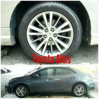 Tyre 205/55 R16 Membat on Toyota Altis 🐕 Super Offer 🙋♂️