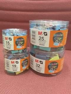 M&G Binder Clips Color