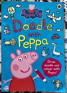 Doodle with Peppa Pig activity book