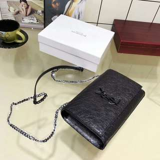 22*15cm High Quality Real Leather  Sling Bag