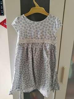 Tiny Buttons Dress
