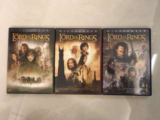 Lord of the Ring part 1, 2 & 3